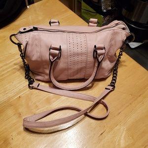 Steve Madden Blush Crossbody Tote Bag